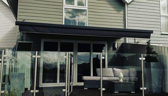 Exterior Awning - Granley Blinds Cheltenham