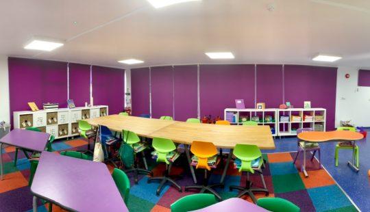 Commercial Blinds Cheltenham School by Granley Blinds